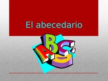 el abecedario, el alfabeto