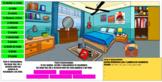 el dormitorio- The bedroom: Identifying Objects Digital Resource