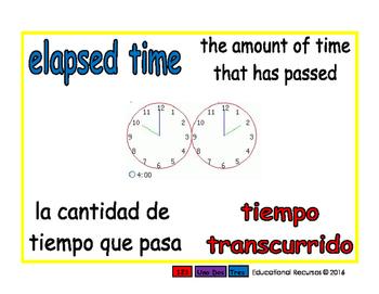 elapsed time/tiempo transcurrido meas 1-way blue/rojo