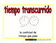 elapsed time/tiempo transcurrido meas 2-way blue/rojo