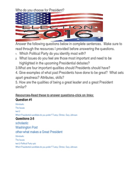 election 2016/which political party are you/ the psycholog