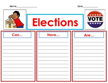 election time! can-have-are organizer