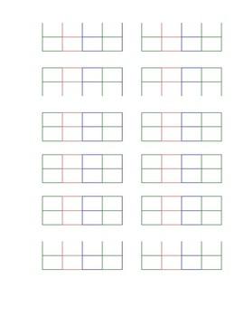 elementary template #1