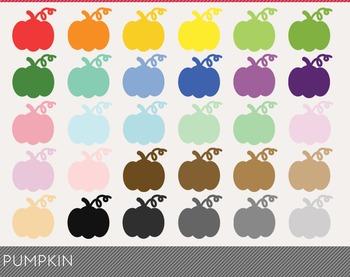 Pumpkin Digital Clipart, Pumpkin Graphics, Pumpkin PNG