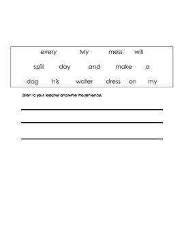 ell spelling picture vocabulary LL,SS,ZZ test