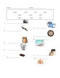 ell spelling picture vocabulary ck test