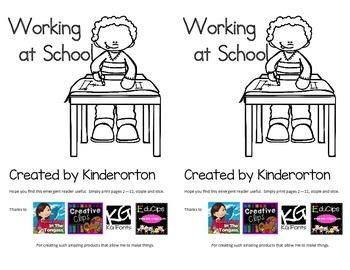 emergent reader - At School