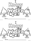 emergent reader: i know the water cycle