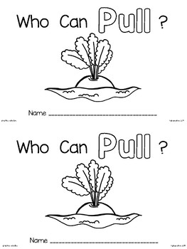 emergent reader: who can pull? (the enormous turnip)