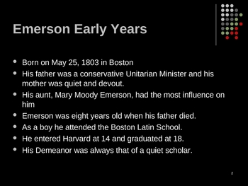 emerson and thoreau powerpoint