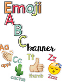 emoji ABC Banner - Classroom Decor