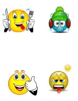 emotional smileys clipart