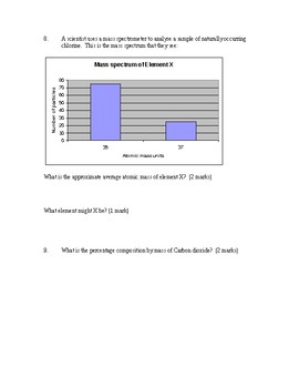 empirical formulas quiz