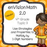 enVision 2.0 Common Core (2016) Topic 3 Multiplying 1-Digi
