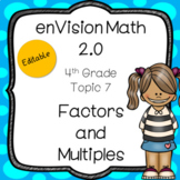 enVision 2.0 Common Core (2016) Topic 7 Factors & Multiple