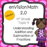 enVision 2.0 Common Core (2016) Topic 9 Addition & Subtrac