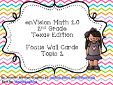 enVision 2.0 Focus Wall Cards Topic 2