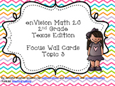 enVision 2.0 Focus Wall Cards Topic 3