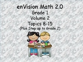 enVision 2.0 Grade 1 I can statements  (volume 2 Topics 8-15)