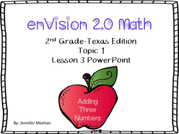 enVision 2.0 Lesson 1-3 PowerPoint