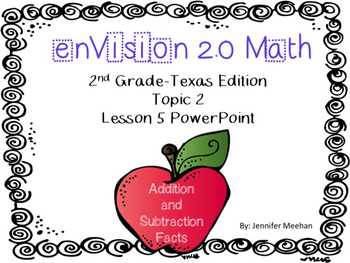 enVision 2.0 Lesson 2-5 PowerPoint
