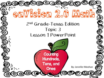 enVision 2.0 Lesson 3-1 PowerPoint