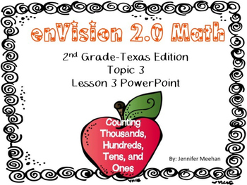 enVision 2.0 Lesson 3-3 PowerPoint