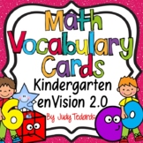 enVision 2.0 Math Vocabulary Cards for Kindergarten