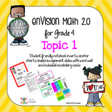 enVision 2.0 Topic 1 (place value)  Grade 4 Resources