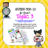 enVision 2.0 Topic 3 (Multiply by 1-Digit Numbers) Grade 4 Resources