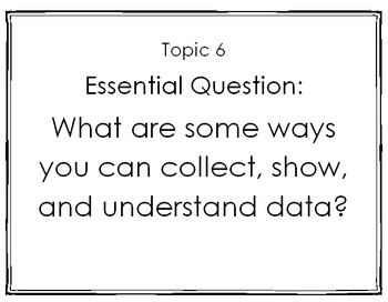 enVision 2.0 I Can Statements Topic 6 Grade 1