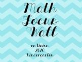 enVision 2020 Math Focus Wall Kindergarten