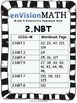 enVision 2nd Grade Homework Book List to Align CCSS-M