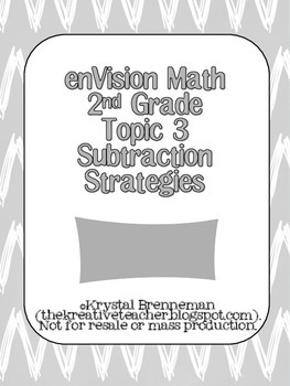 enVision 2nd grade Topic 3