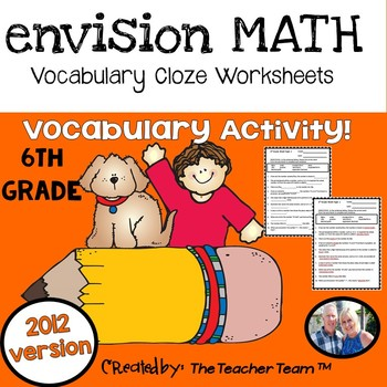 Envision Math 6th Grade Teaching Resources Teachers Pay Teachers