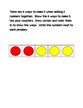 enVision CCSS Topic 1 Math Journals