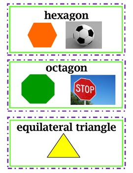 enVision Common Core Math Vocabulary Word Wall Cards Grade 4 Topic 16