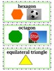 enVision Common Core Math Vocabulary Word Wall Cards Grade