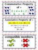 enVision Common Core 2014 Math Vocabulary Word Wall Cards Grade 5 Topic 1-2