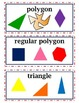 enVision Common Core Math Vocabulary Word Wall Cards Grade 5 Topic 15-16