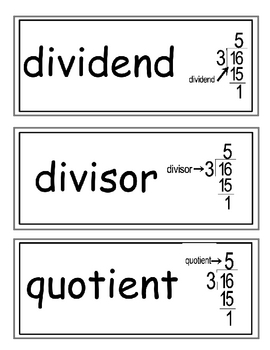 enVision Grade 5 Topic 4 Vocabulary Word Wall Cards