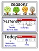enVision Grade K Topic 15 Vocabulary Word Wall Cards