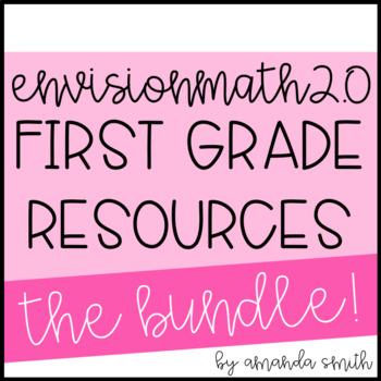enVision Math 2.0 1st Grade Resource Bundle