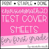 enVision Math 2.0 Test Assessment Cover Sheets 1st Grade