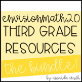 enVision Math 2.0 3rd Grade Resource Bundle