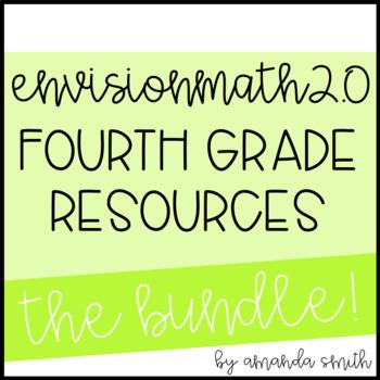 enVision Math 2.0 4th Grade Resource Bundle