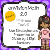 enVision Math 2.0 Common Core (2016) Topic 5 Divide by 1-D