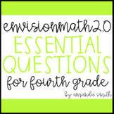 enVision Math 2.0 Essential Questions for Focus Walls 4th Grade