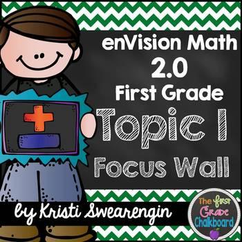 enVision Math 2.0 Focus Wall Topic 1 (First Grade)