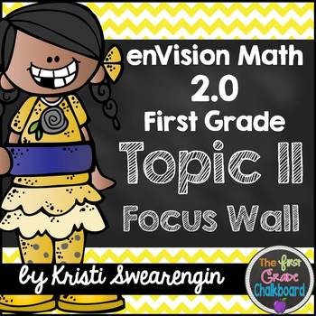 enVision Math 2.0 Focus Wall Topic 11 (First Grade)